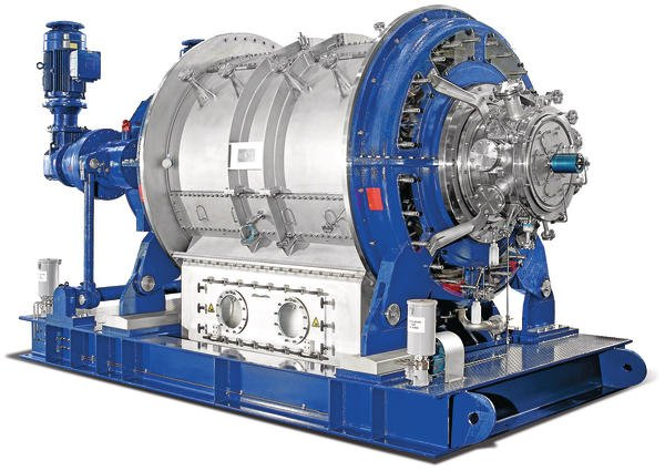 Rotary pressure filters for the chemical industry Record performance in the  drum – process technology online