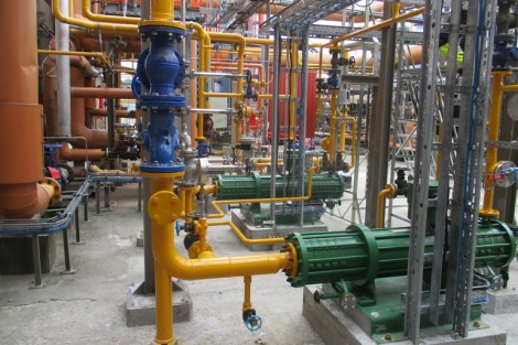 Hermetic-Pumpen supplied two 12-stage, sealless, canned motor pumps from the CAM 32/6 + 6 series to Noretyl AS (Ineos) in south-east Norway