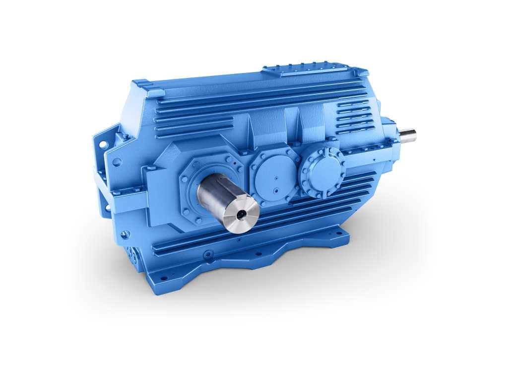 Flender B3SE helical- and bevel-gear unit